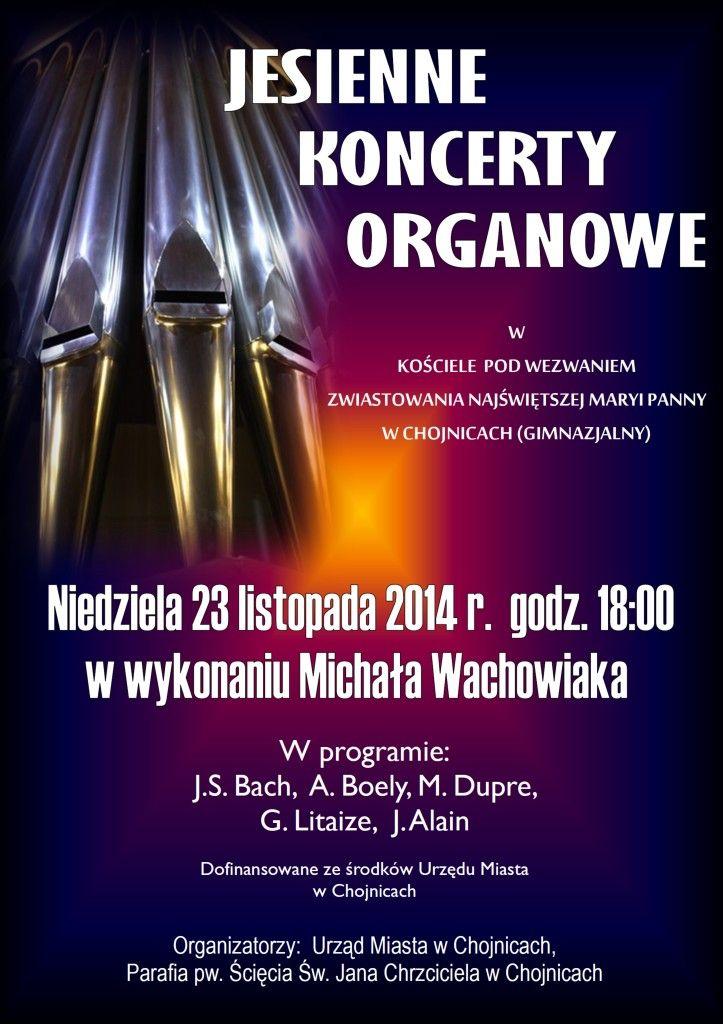 koncert organowy chojnice